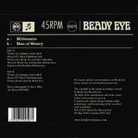 BEADY EYE Millionaire Vinyl Record 7 Inch Beady Eye 2011